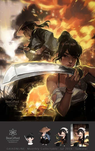 Samurai and Blacksmith