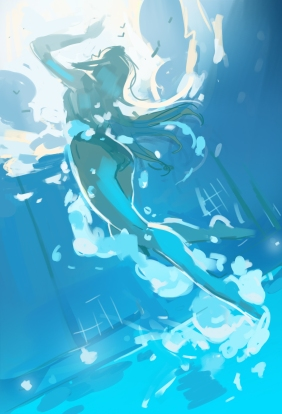 SpitPaint-Going Swimming