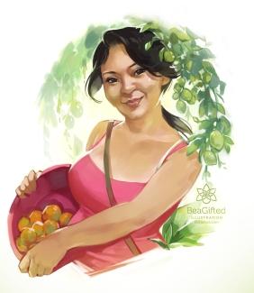 SketchMeetup- Lara Portrait