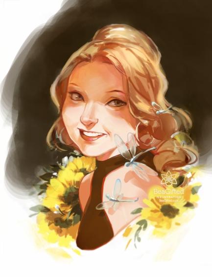SketchMeetup- Rebecca Portrait